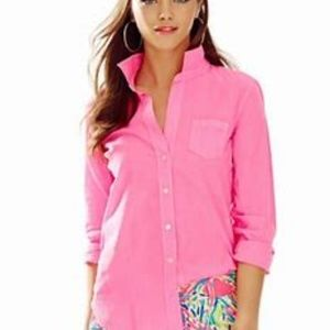 [lilly Pulitzer] button up blouse Xs